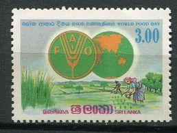 Sri Lanka ** N° 661  Contre La Faim - Against Starve