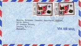 TRINIDAD & TOBAGO. N°239 De 1969 Sur Enveloppe Ayant Circulé. Drapeau. - Covers