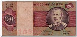 BRAZIL,100 CRUZEIROS,1974,P.195Aa,aVF - Brasilien