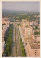 88013- CHISINAU- NEGRUZZI BOULEVARD, BUSS, CAR, PARTIAL TOWN PANORAMA - Moldavie