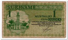 SURINAME,1 GULDEN,1974,P.116,,F - Suriname