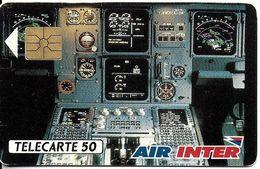TÉLÉCARTE PHONECARD D 216 AIR INTER - France