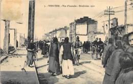 China - TIANJIN - View Of A Fire, 1912 Revolution - Publ. Liou Sou 7. - Chine