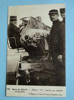 """Militaria - Guerre 1914-15 -- Notre """" 75 """" Monté Sur Plateau Automobile - Guerre 1914-18"""