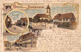 ICHENHEIM - Litho - Gasthaus Z. Löwen - Strasse Nach Kehl. - Germany