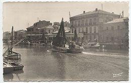 X122353 GARD LE GRAU DU ROI LE CANAL RIVE GAUCHE - Le Grau-du-Roi