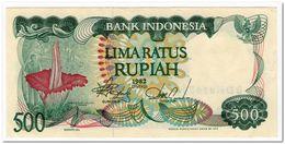INDONESIA,500 RUPIAH,1982,P.121,XF+, - Indonesien