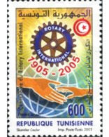 Ref. 189433 * MNH * - TUNISIA. 2005. CENTENARY OF ROTARY CLUB INTERNATIONAL . CENTENARIO DEL ROTARY CLUB INTERNACIONAL - Escudos De Armas