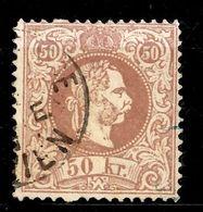 Autriche YT N° 39 Oblitéré. Signé Richter. Premier Choix. A Saisir! - 1850-1918 Empire