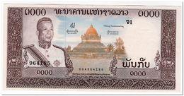LAOS,1000 KIP,1963,P.14a,UNC 2 PINHOLES - Laos