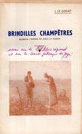 Brindilles Champêtres Dédicacé Par Le Cornet (aumonier à L'hospice De Moncontour 22) - Livres, BD, Revues