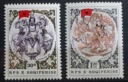 Albanien 1988, Mi 2377-78 MNH Postfrisch - Albanien