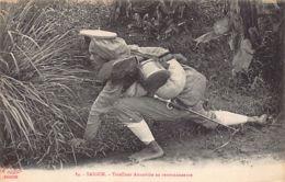 Vietnam - SAIGON - Tirailleur Annamite En Reconnaissance - Ed. La Pagode 84. - Viêt-Nam