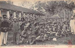 Vietnam - SAIGON - Camp Des Mares - Tirailleurs Annamites à L'exercice - Ed. La Pagode 86. - Viêt-Nam