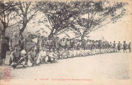 Vietnam - SAIGON - Une Compagnie De Tirailleurs Annamités - Ed. La Pagode 87. - Viêt-Nam