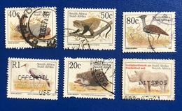 ANIMALI IN PERICOLO / ENDANGERED ANIMALS - ANNO/YEAR 1997-2000 - África Del Sur (1961-...)