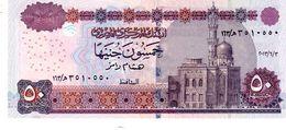 Egypt P.66k 50 Pounds 2013  Unc - Egypte
