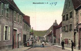 Maursmünster Elsaß Marmoutier 1917 - Saverne