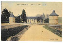 Cpa...vallée De Chevreuse...chateau De La Cour Senlisse...1909...(couleur)... - France