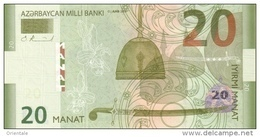 AZERBAIJAN P. 28 20 M 2005 UNC - Arzerbaiyán