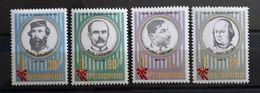 """Albanien 1988, Mi 2369-72 MNH Postfrisch """"Persönlichkeiten"""" - Albanien"""