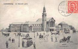 LUXEMBOURG-VILLE - La Nouvelle Gare - Ed. Ch. Bernhoeft. - Luxembourg - Ville