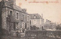 14 Saint Germain De Tallevende. Un Côté Du Bourg - Other Municipalities