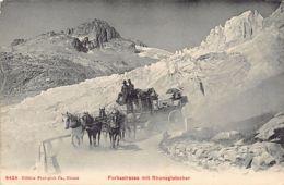 Furkastrasse (VS) Mit Rhonegletscher - Diligence - VS Valais