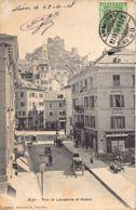 Sion (VS) Rue De Lausanne Et Valère - VS Valais