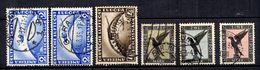 Allemagne/Reich Poste Aérienne YT N° 32/34, N° 36 (2) Et N° 37 Oblitérés. B/TB. A Saisir! - Poste Aérienne