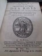 Les Deux Premiers Livres Des Rois Traduits En François MAISTRE DE SACY Guillaume Desprez 1690 - Boeken, Tijdschriften, Stripverhalen