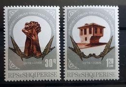 Albanien 1988, Mi 2365-66 MNH Postfrisch - Albanien