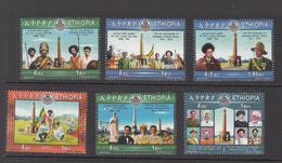 2016 Ethiopia Patriots Victory 1941 World War II Complete Set  Of 6 MNH - Ethiopië