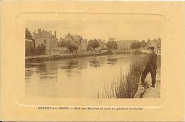 NOGENT-sur-SEINE : Bief Des Moulins Et Quai Du Général Carbonel - Nogent-sur-Seine