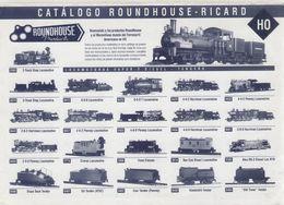 Catalogue ROUNDHOUSE - RICARD 1990s HO Los Productos Roundhouse En España - En Espagnol - Books And Magazines