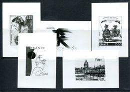 Lot De 5 Planche Photographiques De Timbres Tableaux (source La Poste) - T 973 - Other