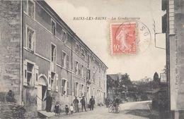 CPA - BAINS-LES-BAINS (VOSGES) - LA GENDARMERIE - GENDARMES - Bains Les Bains