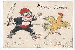 Bonas Festas - Dibujo De Antiga - Altri