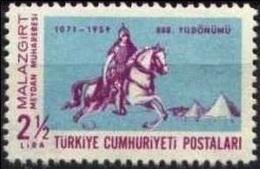 1959 TURKEY 885TH YEAR OF THE MAJOR BATTLE OF MALAZGIRT MNH ** - Neufs