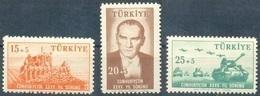1958 TURKEY 35TH ANNIVERSARY OF THE REPUBLIC OF TURKEY MNH ** - Ongebruikt