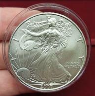 """Estados Unidos United States 1 Dollar """"American Silver Eagle"""" 2007 Km 273 - Otros"""