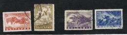BULGARIA    -  SG 614.618  - 1946 MILITARY & AIR SERVICES    -  USED° - Gebraucht