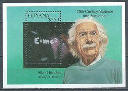 Guyana Bloc-feuillet Albert Einstein Neuf ** - Albert Einstein