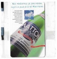 Czech Republic - SPT - Mattoni Water, 12.1998, 30Units, 1.000ex, NSB Rare - Tschechische Rep.