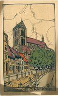Wismar St. Nikolaikirche Steinzeichnung - Wismar