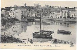 TREBOUL : LE PONT NEUF ET LE MOULIN DE GOLVEN - Tréboul