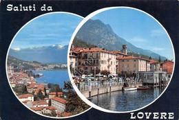 Cartolina Lovere Vedute 1969 - Bergamo