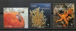 CROATIA 2020,FAUNA, MARINE LIFE,UNDERSEA WORLD,,MNH - Vie Marine