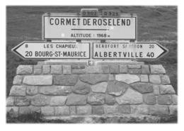 BOURG-SAINT-MAURICE - Cormet De Roselend 1968m - Bourg Saint Maurice