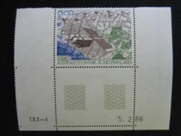 T.A.A.F 1986 Y&T P.A. COIN DATE N° 96 ** - SPOT, TELEDETECTION PAR SATELLITE - Poste Aérienne